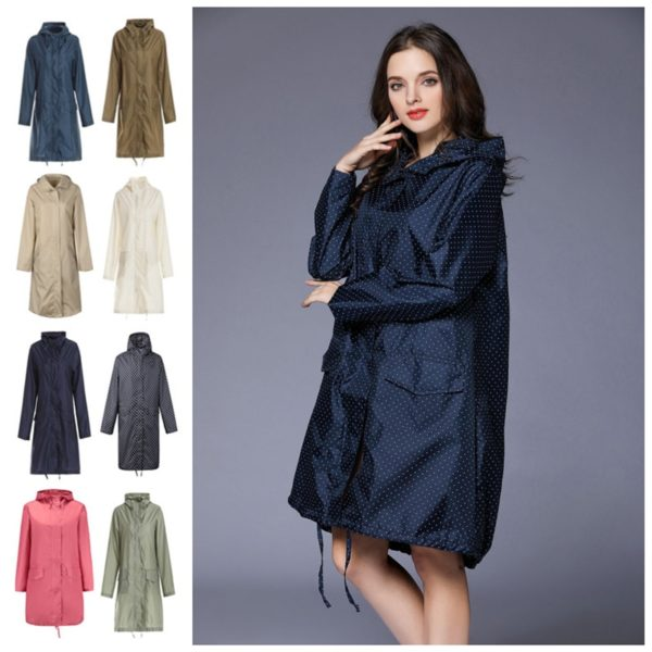 Dámský podzimní nepromokavý kabát Jimmys - kolekce 2020