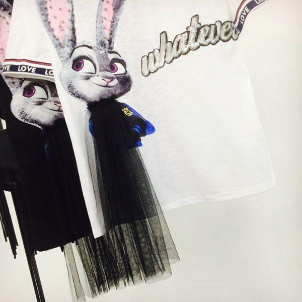 Dámské trendy designové triko Elianna - kolekce 2020