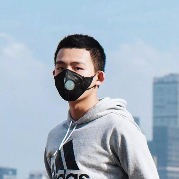 Xiaomi Mijia Airpop F95 Face Mask 360 Degree Light Air Wear PM2.5 Anti-haze Mask Adjustable Ear Hanging Comfort Adult Mask