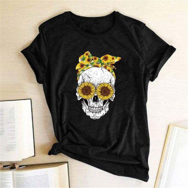 Dámské tričko Funny Skull