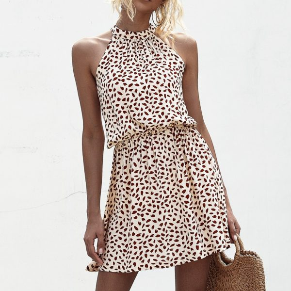 Dámské stylové letní mini šaty Matilda