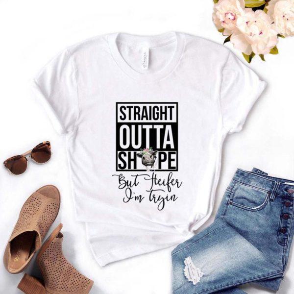 Dámské luxusní tričko Straight outta