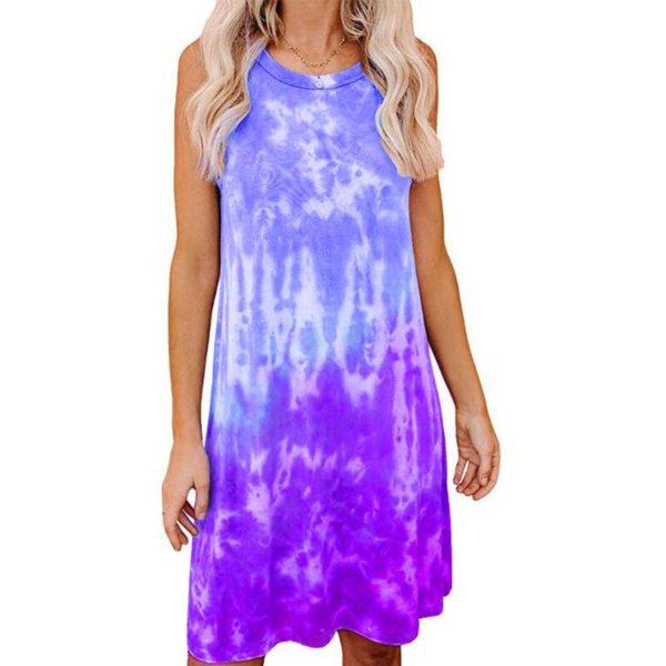 Dámské letní vzdušné šaty Zuniga - kolekce 2020