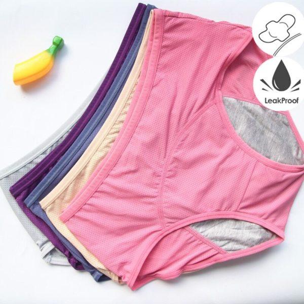 Dámské fyziologické menstruační kalhoty   sada 3 ks