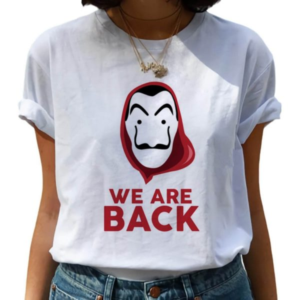 Dámské tričko Money Heist