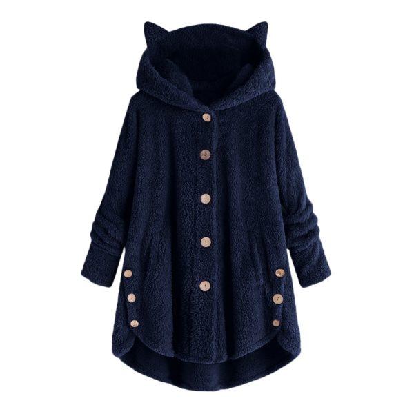 Dámský stylový mikinový kabát Hellen
