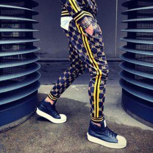 Pánské stylové 3D teplákové kalhoty Eaton