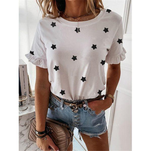 Dámské tričko s hvězdičkami Erika