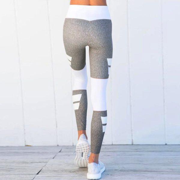 Dámské stylové fitness legíny