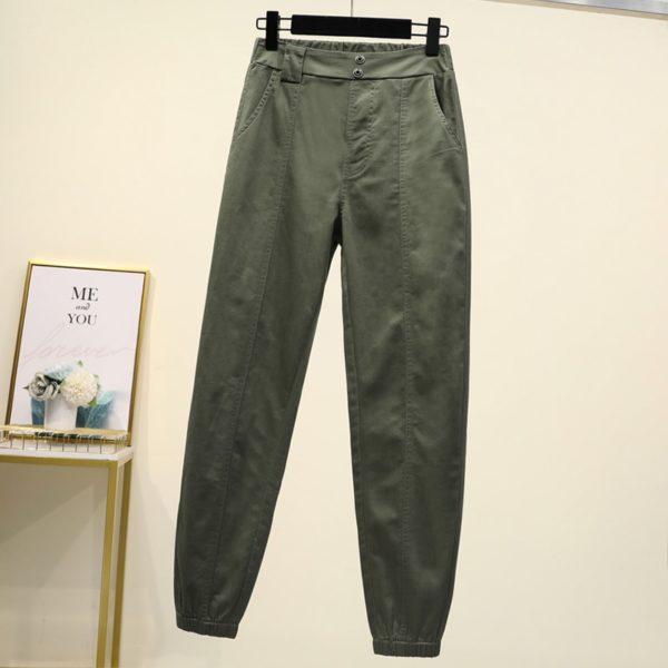Dámské plus size cargo kalhoty London