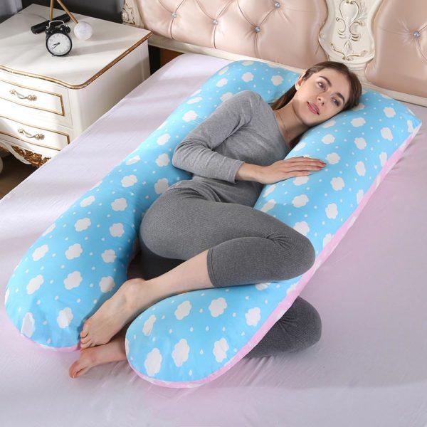 Stylový těhotenský polštář Valeco