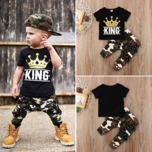 Chlapecká módní letní souprava King