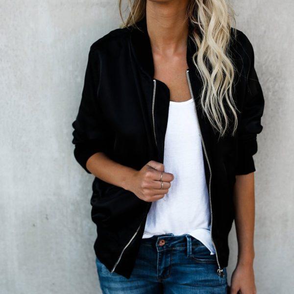 Dámská módní neformální bunda Skinny Minny