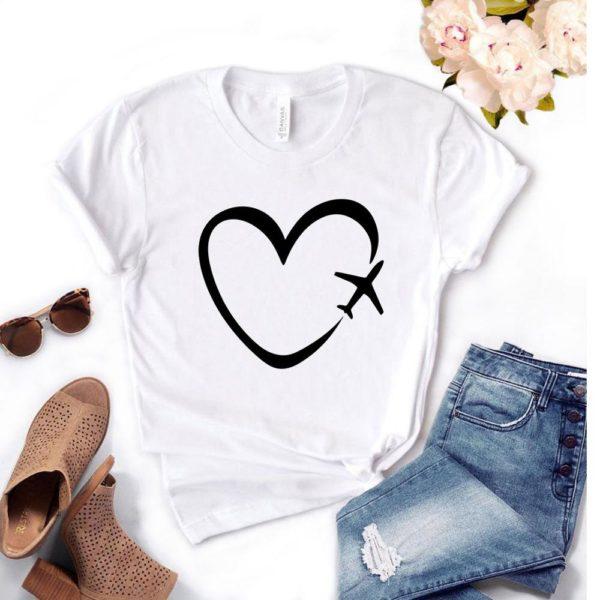 Dámské tričko se srdíčkem Yareli