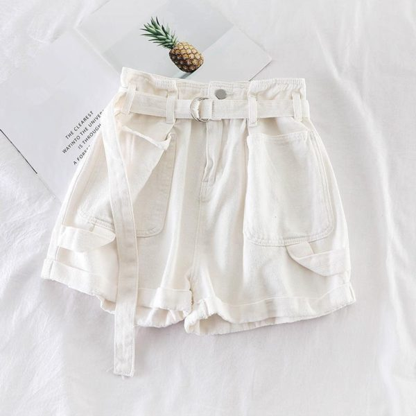 Dámské džínové šortky s vysokým pasem Ashley