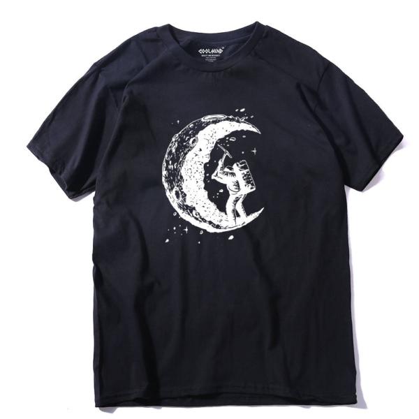 Panské stylové triko Moon