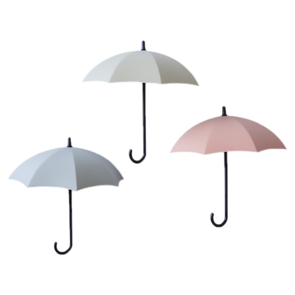 Praktický nástěnný háček Umbrella 3ks