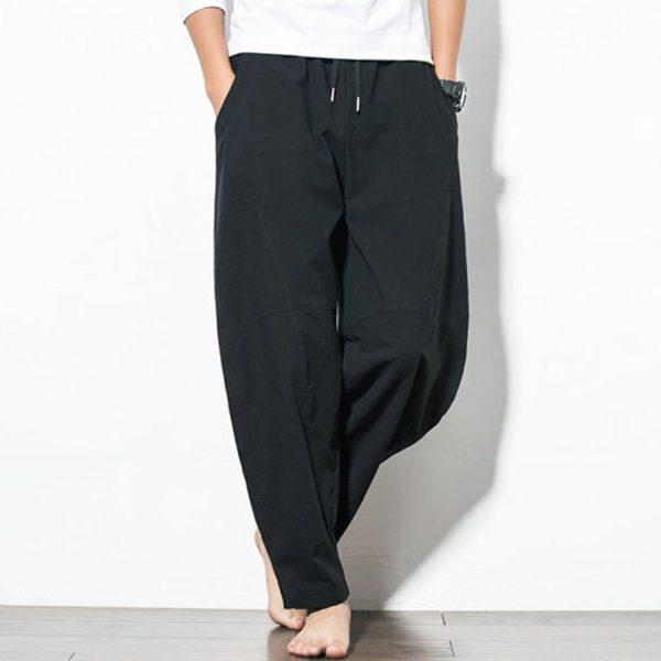 Pánské stylové harem kalhoty Miller