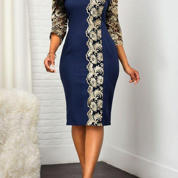 Dámské luxusní elegantní šaty Chloe