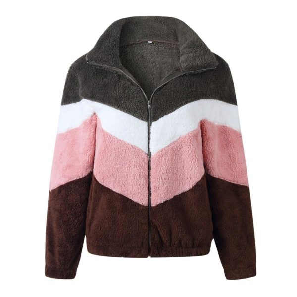 Dámský podzimní plyšový svetr Leslie