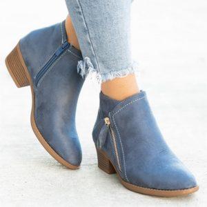Dámské moderní podzimní boty Shaffer