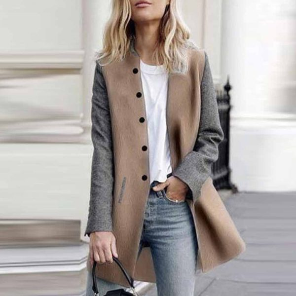 Dámský elegantní kabát Ashlyn