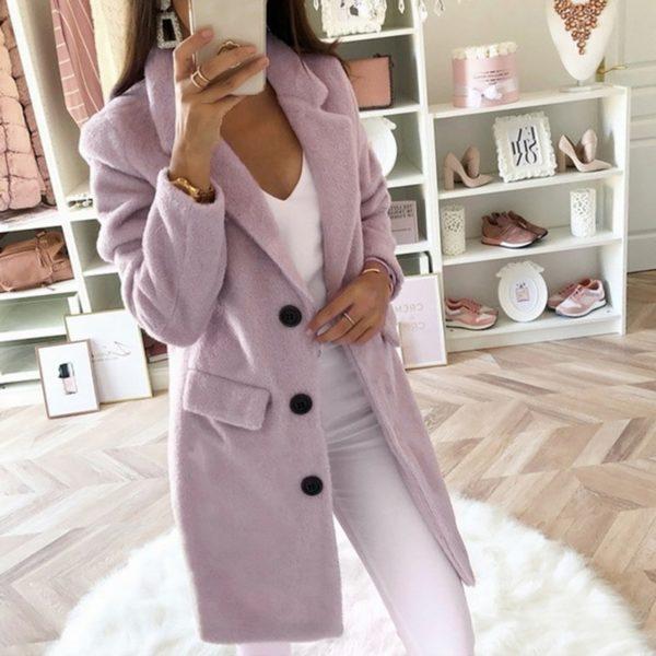 Dámský elegantní kabát Layla