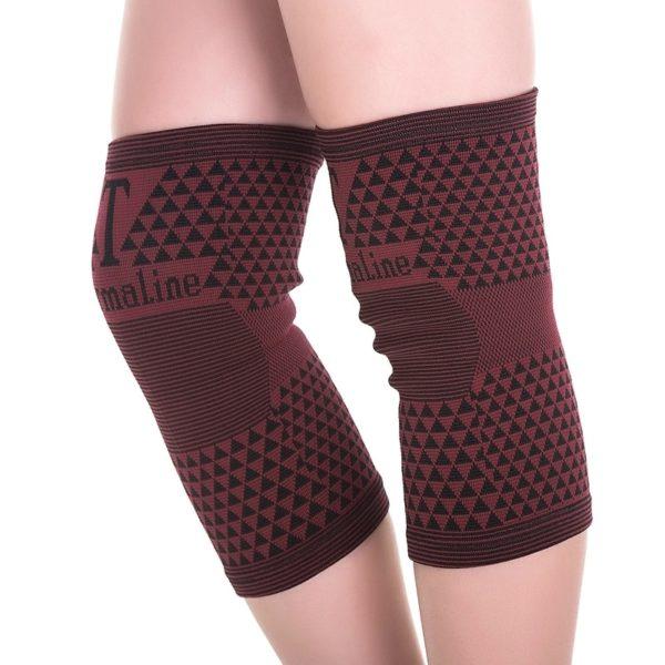 Samozahřívací turmalínové návleky na kolena