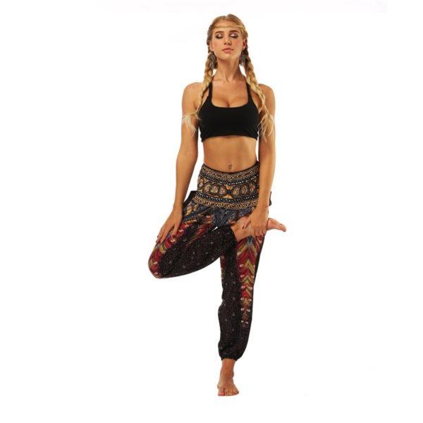 Dámské harémové kalhoty na cvičení Karim