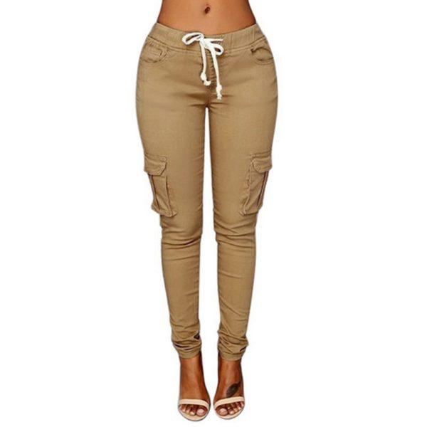 Dámské moderní slim kalhoty Chay