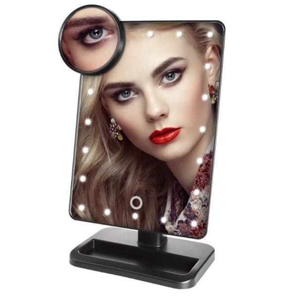 Kosmetické zrcátko s LED osvětlením Taya