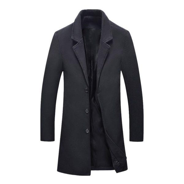 Pánský elegantní kabát Jayce