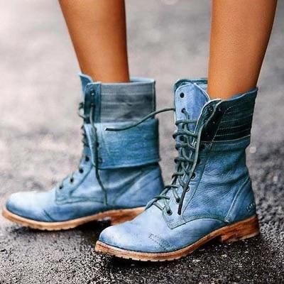 Dámské moderní vysoké boty Veronica
