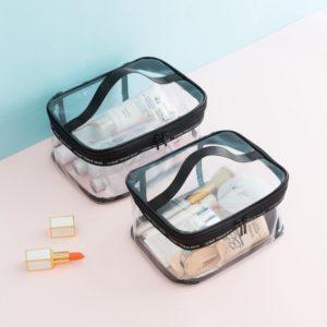 Transparentní kosmetická taška Marie