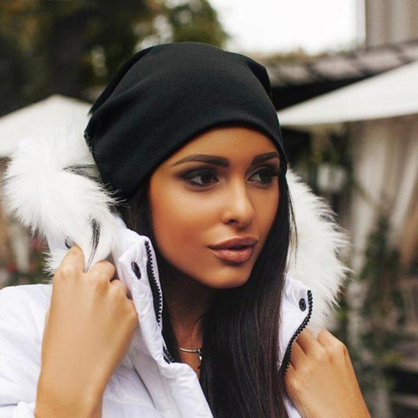 Dámská luxusní zimní čepice Shivani