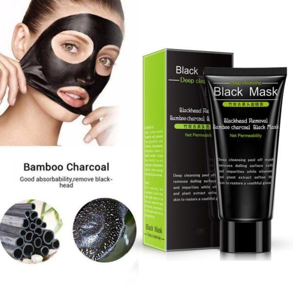 Čistící černá maska na obličej Jodie