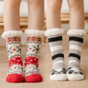 Zimní teplé stylové ponožky Katlyn
