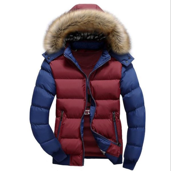 Pánská bunda Brock s kožíškem