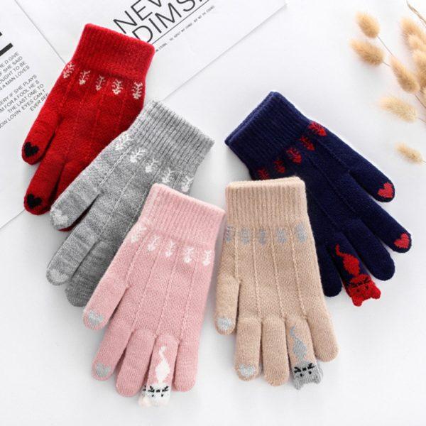 Unisex módní zimní rukavice Carlos