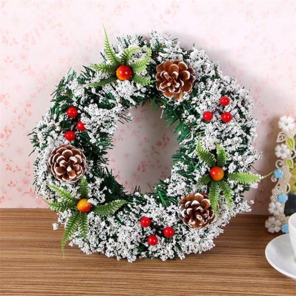 Vánoční věnec na dveře Davis