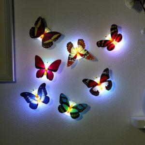 Nalepovací LED motýlci Reese