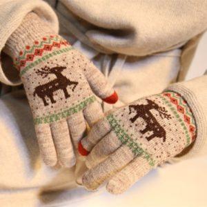 Dámské luxusní dotykové rukavice Lucia