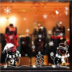 Vánoční dekorace na okno Hays
