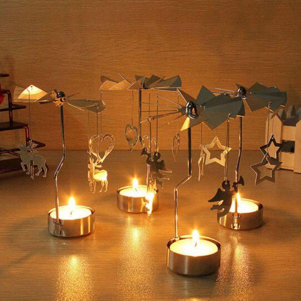 Andělské zvonění na čajovou svíčku Siana