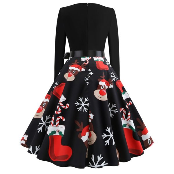 Dámské stylové vánoční šaty Eddison