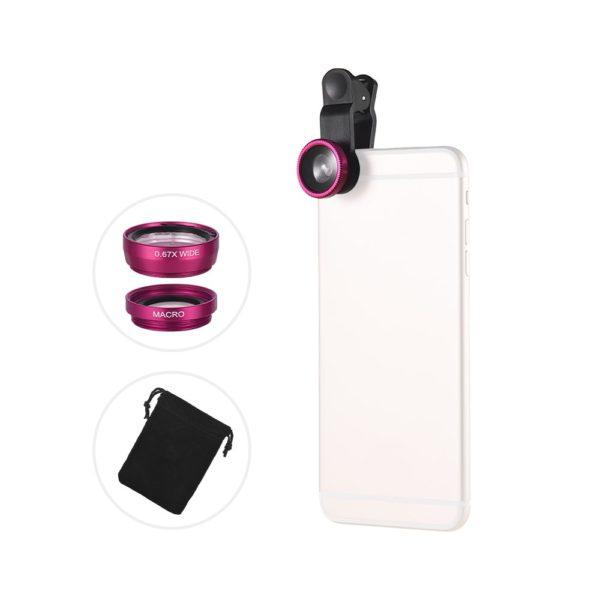 Kroužky na focení telefonem s LED přisvícením