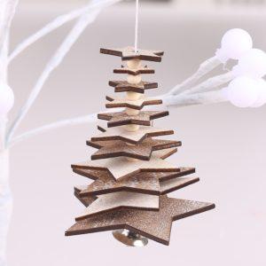 Vánoční dekorační stromeček Weiss