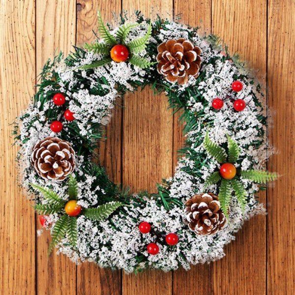 Vánoční dekorativní věnec XMAS