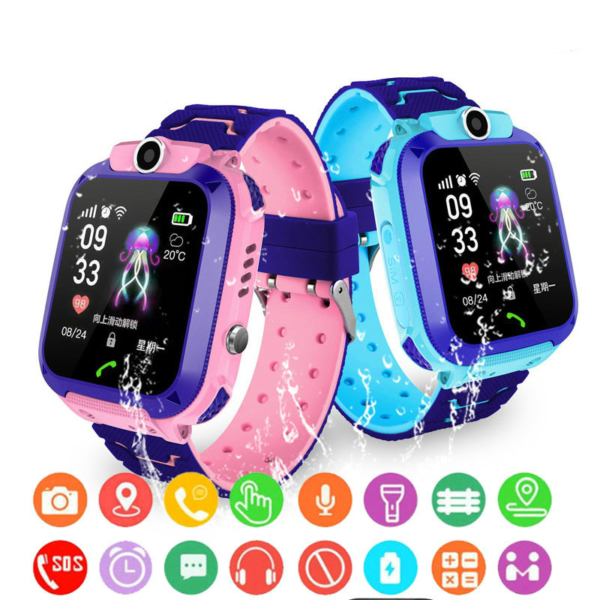 Chytré hodinky pro děti Leon