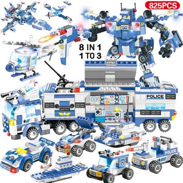 Dětská skládačka Robocop 825ks